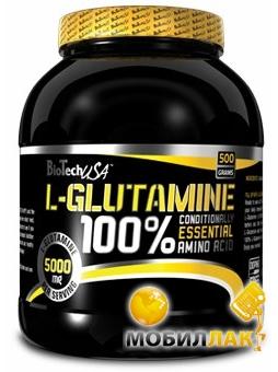 BioTech 100% L-Glutamine 8015 MobilLuck.com.ua 266.000