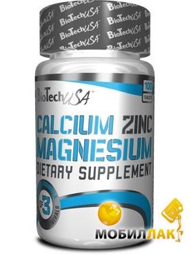 biotech BioTech Calcium-Zinc-Magnezium 8035