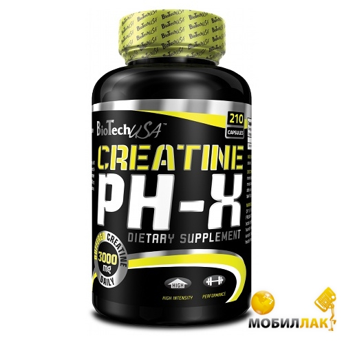 biotech BioTech Creatine pH-X 210 капсул