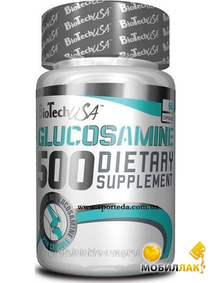 biotech BioTech Glucosamine 500 – 60 капсул