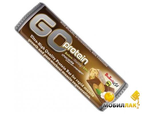 biotech BioTech Go Protein Bar 80 г Chocolate-marzipan 1/21
