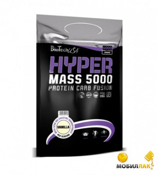 biotech BioTech Hyper Mass 5000 4 кг малиновый йогурт