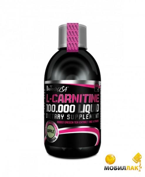 biotech BioTech L-Carnitine Liquid 100 000 500 мл яблоко