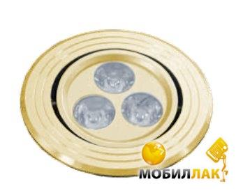 Delux DELUX HDL3001R LED 3W поворотный золото бел. MobilLuck.com.ua 117.000