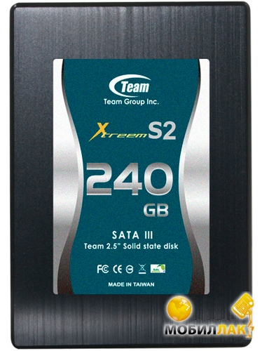"Team Xtreem-S2 240GB 2.5"" SATAIII MLC (T253S2240GMC103) MobilLuck.com.ua 2342.000"