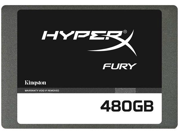 SSD-накопитель Kingston HyperX Fury 480GB 2.5 SATAIII MLC (SHFS37A/480G)