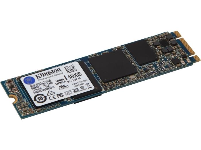 Твердотельный накопитель Kingston SSDNow G2 480GB M.2 2280 SATAIII MLC (SM2280S3G2/480G)