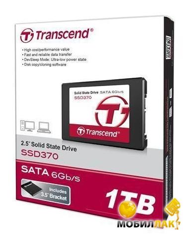 Transcend 2,5&quot Transcend 370 1TB MobilLuck.com.ua 7502.000