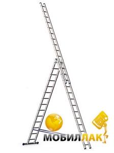 Alumet Алюминиевая трехсекционная лестница 6314 MobilLuck.com.ua 3134.000