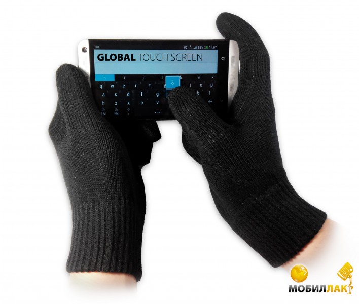 Global Touch screen (L, Черные)