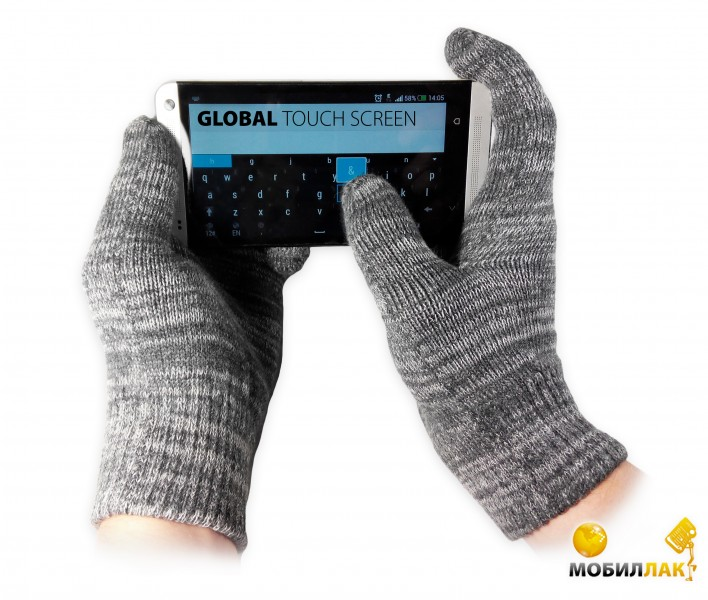 Global Touch screen (M, Серые) MobilLuck.com.ua