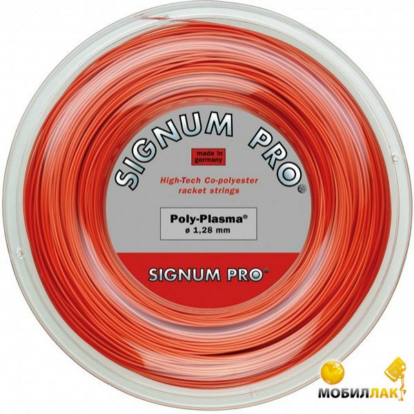 Бобина Signum Pro Poly Deluxe red 1,28 200 m