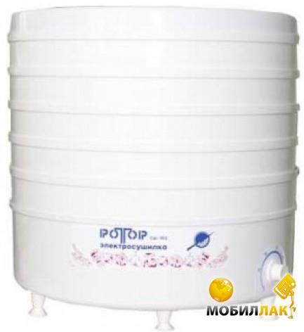 Сушилка электрическая для овощей и фруктов Ротор (Чудесница) предназначена для сушки свежих овощей. фруктов, грибов...