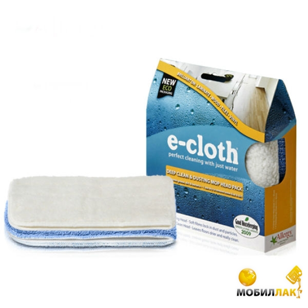 Набор насадок для швабры E-Cloth Deep Clean  Dusting Mop 200562