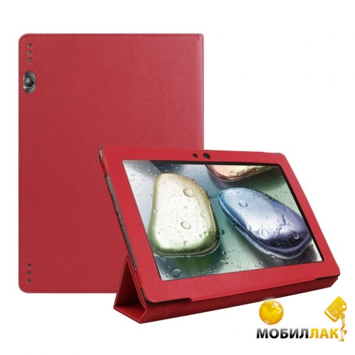 TTX Lenovo IdeaTab 10.1 S6000 Leather case Rose Red (TTX-LS6000RR) MobilLuck.com.ua 241.000