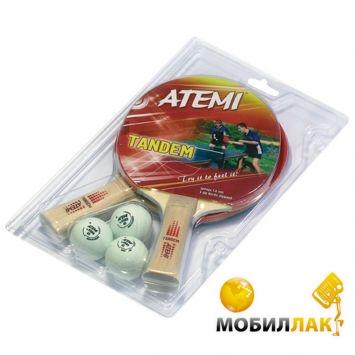 Atemi Tandem Набор 2 ракетки + 3 мяча MobilLuck.com.ua 195.000