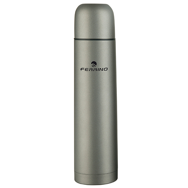 Ferrino Vacuum Bottle 1 Lt Grey Ferrino