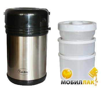 Con Brio СВ322 2 л пищевой 3 контейнера MobilLuck.com.ua 182.000