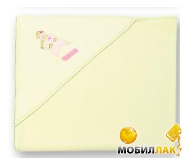 Womar Exclusive 80x80cm с вышивкой и слинявчиком в пакете желтый (Уголок Ex.П-желтый) MobilLuck.com.ua 180.000