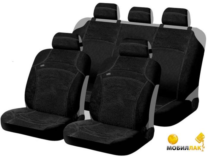 Чехлы для автомобильных сидений Hadar Rosen SCORPIO, Черно-Красный 10333.