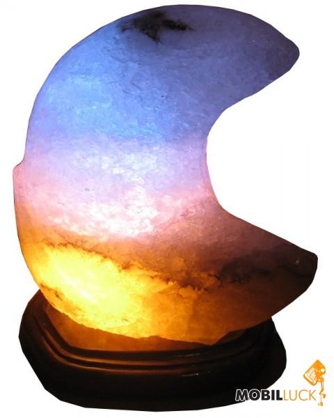 Zenet Соляной светильник Месяц цветная MobilLuck.com.ua 313.000