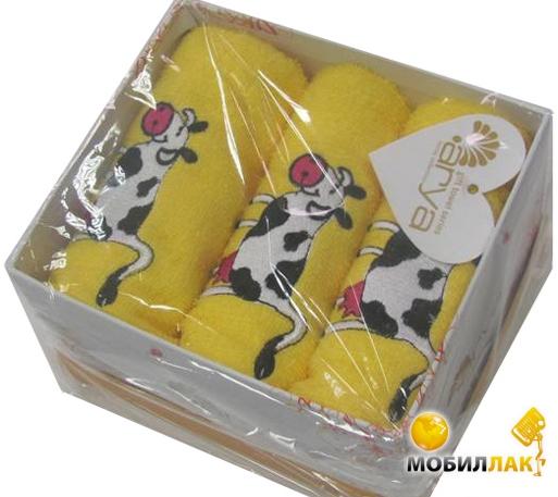Arya Cow 40X60 3 предмета желтый (3000000116777) Arya