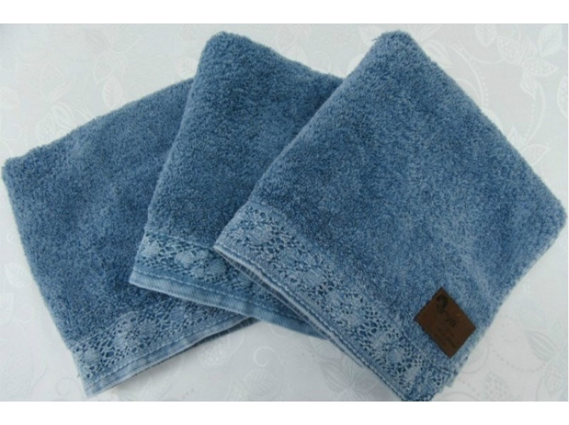 Arya Stone Wash 70x140 см Голубое (8680943021106) Arya