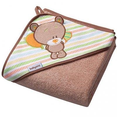 BabyOno Frotte 76x76 см Медведь Коричневый (141/05) BabyOno