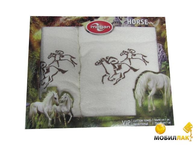 Megan вышивка с лошадкой 50Х90-70Х149 кремовый (3333210000728) Megan