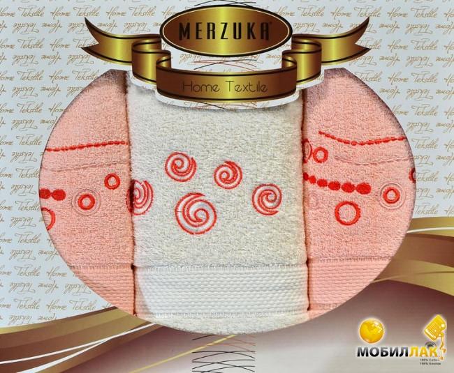 Oran Merzuka Geometric 3 предмета персиковый (3000000043790) MobilLuck.com.ua 261.000