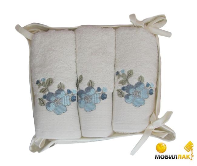 Ozdilek Coronet с вышивкой в корзине 3 предмета (8698931916549) Ozdilek