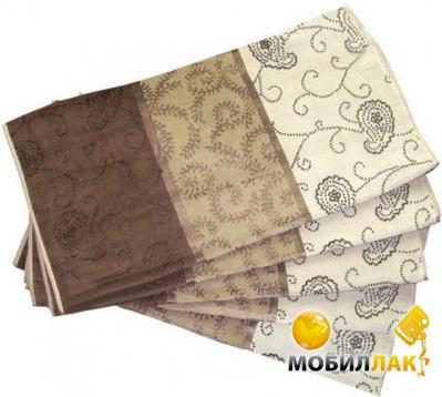 Ozdilek Empire 50Х100 (12 предметов) коричневый (8697353215742) Ozdilek