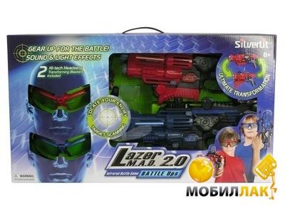 Silverlit Лазерная атака, игровой набор, 2 шлема и 2 бластера (S86840) MobilLuck.com.ua 849.000
