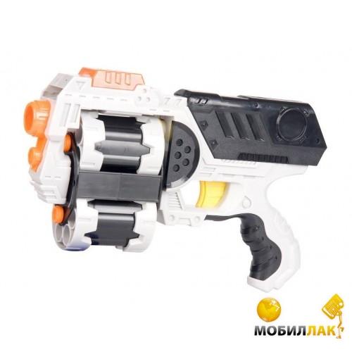 Zuru X-Shot Бластер Ураган Зомби, два вида оружия ( 6 банок, 8 дисков,12 дартс) (01164Z) MobilLuck.com.ua 203.000