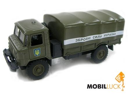 Технопарк Автомодель ГАЗ-66 Вооруженные силы (CT-1299-20) MobilLuck.com.ua 129.000