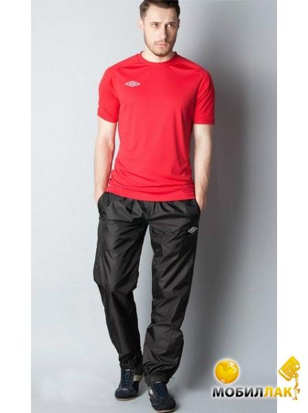 8d3fb322 Фотография Штаны ветрозащитные Umbro TT Shower Pants (423011-611) чер/бел/