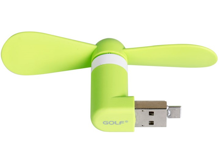 golf Golf F1- USB Micro Mini Fan Green