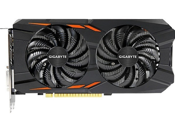 Gigabyte GTX1050 2GB DDR5 Windforce OC (GV-N1050WF2OC-2GD) Gigabyte