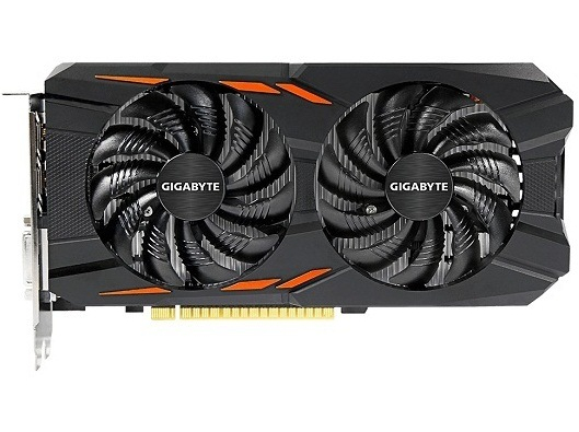 Gigabyte GeForce GTX1050TI 4GB DDR5 Windforce OC (GV-N105TWF2OC-4GD) Gigabyte