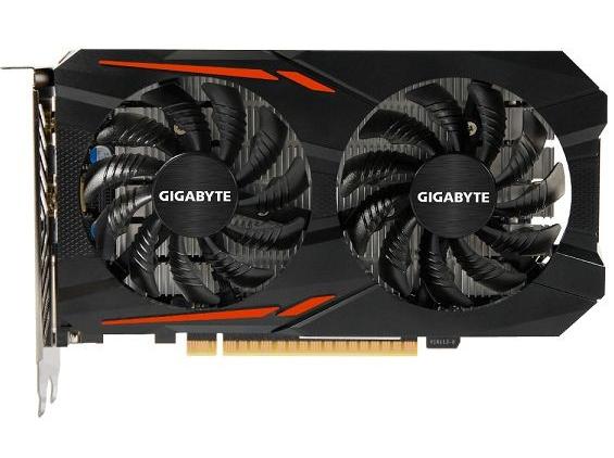 Gigabyte GeForce GTX1050 2GB DDR5 OC (GV-N1050OC-2GD) Gigabyte