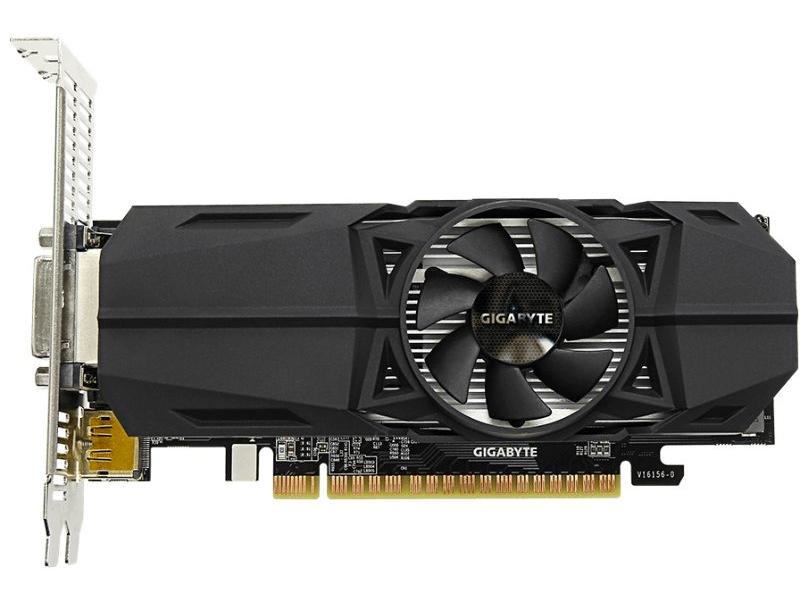 Gigabyte GeForce GTX 1050 LP (GV-N1050OC-2GL) Gigabyte