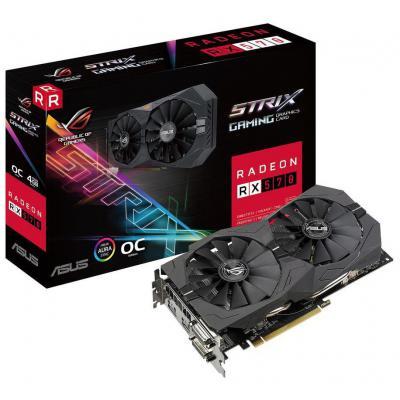 AMD Radeon RX 560 4GB GDDR5 ROG Strix OC Asus (ROG-STRIX-RX560-O4G-EVO-GAMING) AMD