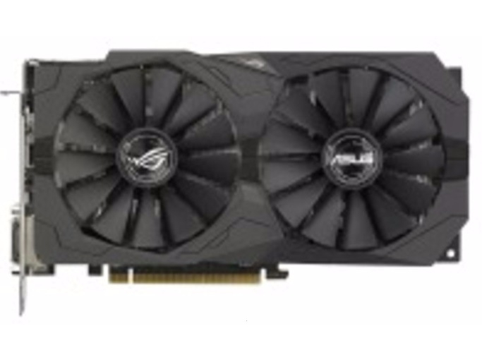 Asus 4 Gb DDR5 256 Bit (ROG-STRIX-RX570-O4G-GAMING) Asus
