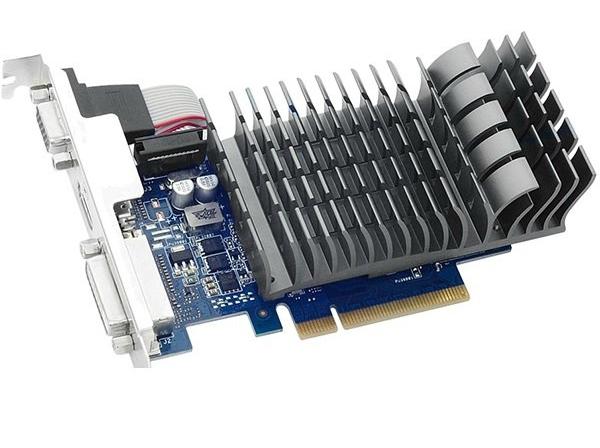 Asus PCI-Ex GeForce GT 710 1024MB DDR3 (64bit) (954/1800) (VGA, DVI, HDMI) (710-1-SL) Asus