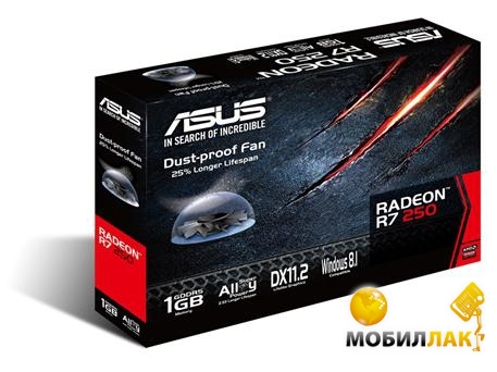 Asus R7250-1GD5 MobilLuck.com.ua 1464.000