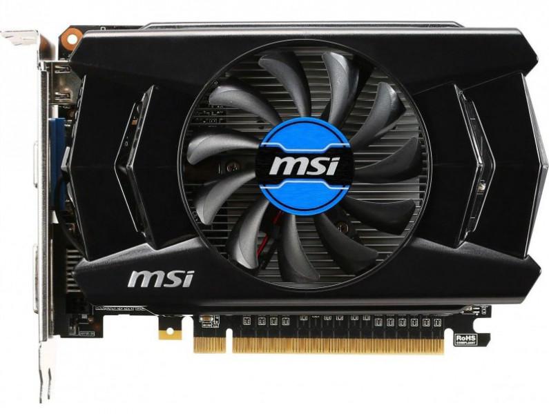 MSI 2Gb DDR5 128Bit N750Ti-2GD5/OCV1 PCI-E MSI