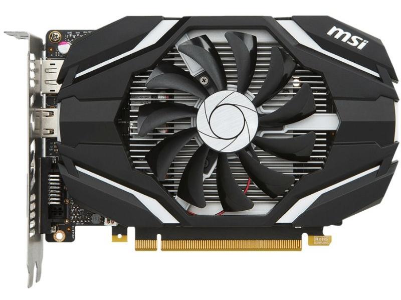 Видеокарта MSI GeForce GTX 1050 Ti 4G 128Bit (GTX 1050 Ti 4G OC) PCI-E