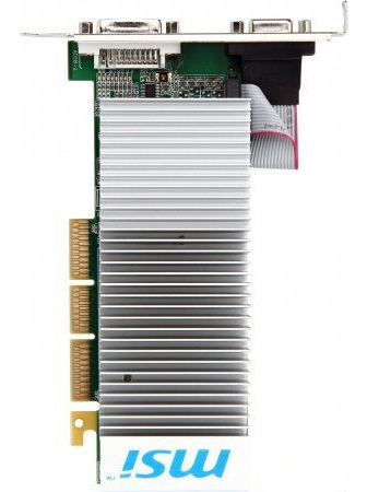 MSI AGP 6200 (N6200-512D2H/LP) MSI