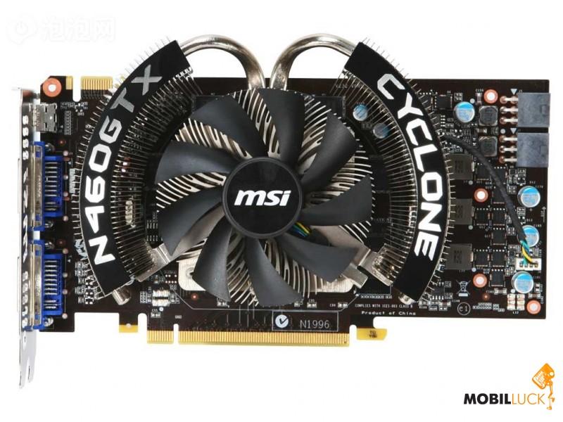 видеокарта msi n1996 характеристики