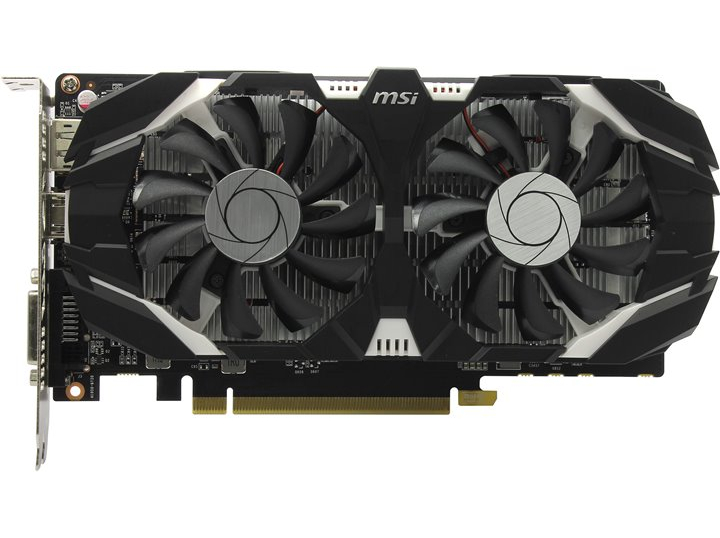MSI GeForce GTX 1050 2GB GDDR5 OCV1 (GTX 1050 2GT OCV1) MSI